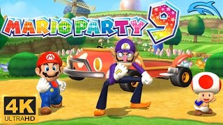 Mario Party 9 - Gameplay Wii 4K 2160p (Dolphin 5.0)
