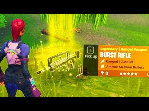 "NEW ""BURST RIFLE"" GAMEPLAY! (Fortnite Funny Fails and WTF Moments)"