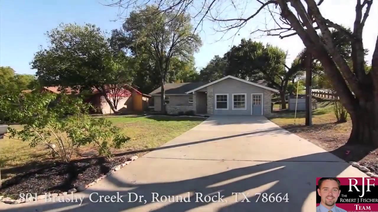 Video Tour Of 801 Brushy Creek Dr Round Rock Tx 78664 Youtube