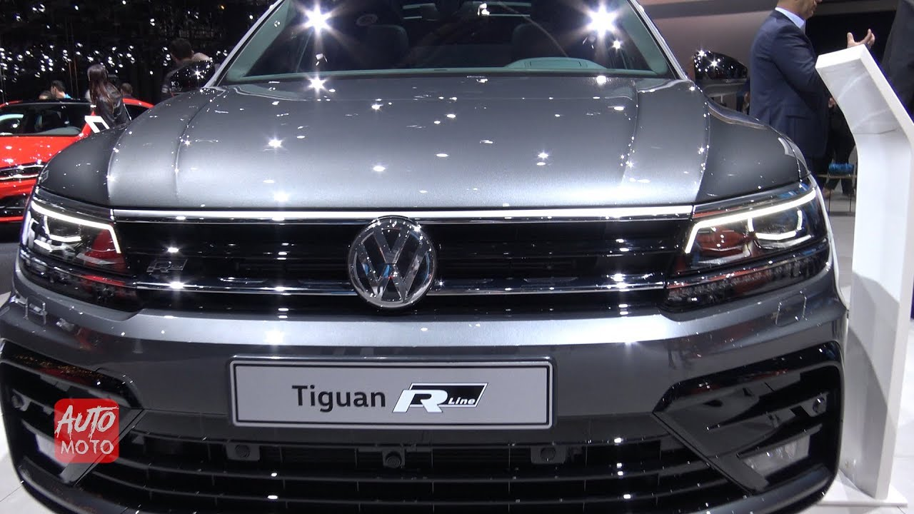 2020 VW Tiguan R, Changes, Coupe >> 2020 Volkswagen Tiguan R Line 2 0tsi 230hp Exterior And Interior 2019 Geneva Motor Show