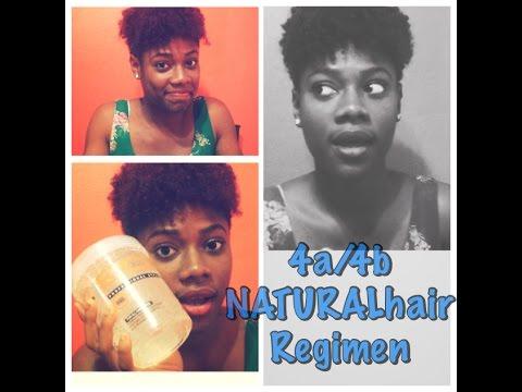 Natural hair regimen 4a 4b