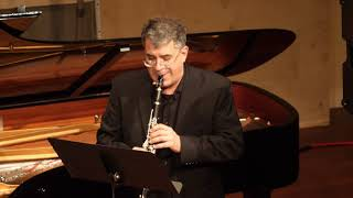 LCCE performs David Conte: Sonata for Clarinet and Piano