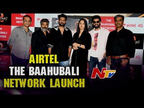 Airtel -The Baahubali Network Launch || Prabhas || Rana Daggubati || Anushka