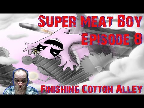 Finishing The Hardest Levels In Style! 0.5% Trophy Rarity! - Super Meat Boy - Gameplay [#08]