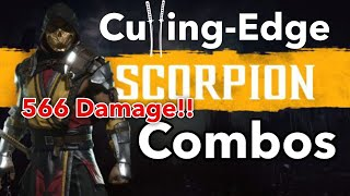 MK11 Scorpion Combo Video [Mortal Kombat 11]