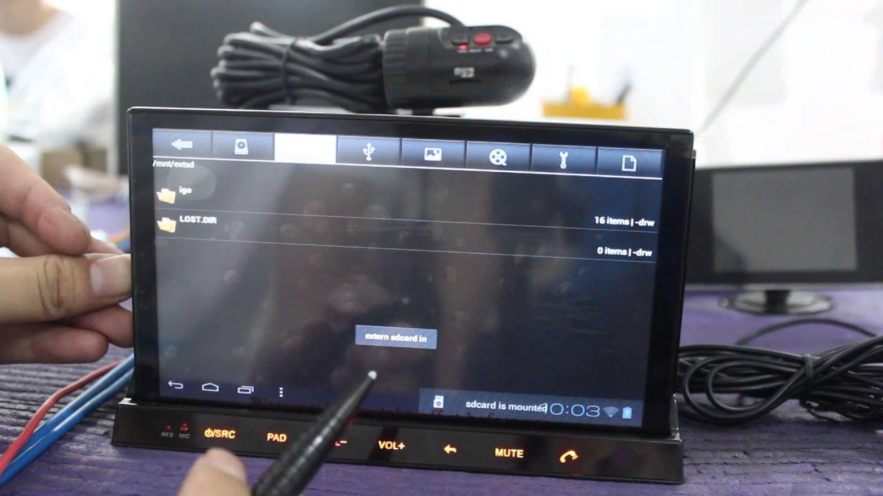Android 4 0 Car Stereo Dvd Player With Detachable Android
