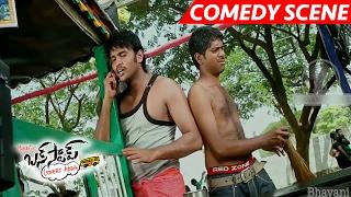Sai Kumar Flirts A Customer Care Girl On Phone - Superb Comedy Scene - Bus Stop Movie Scenes