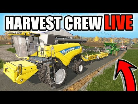 FARMING SIMULATOR 2017 | BIG COUNTRY HARVEST CREW.....FINISHING UP SOYBEANS BEFORE WINTER | EP #42