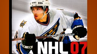 NHL 07 Gameplay Leafs Flames PS2 {1080p 60fps}