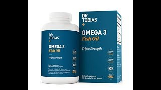 How to be in good health - Dr Tobias Omega 3 Fish Oil REVIEW
