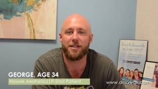 P Shot Testimonial with George at Nowak Aesthetics