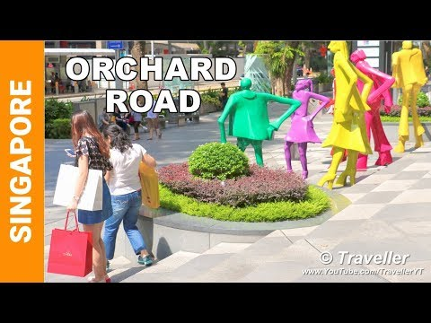 Singapore Attractions | Orchard Road walking tour | Singapore shopping street