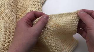 How To: Icelandic Bind Off
