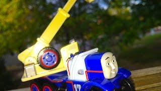 Thomas & Friends Kelly Wooden Railway Toy Train Railway Review By Mattel Fisher Price