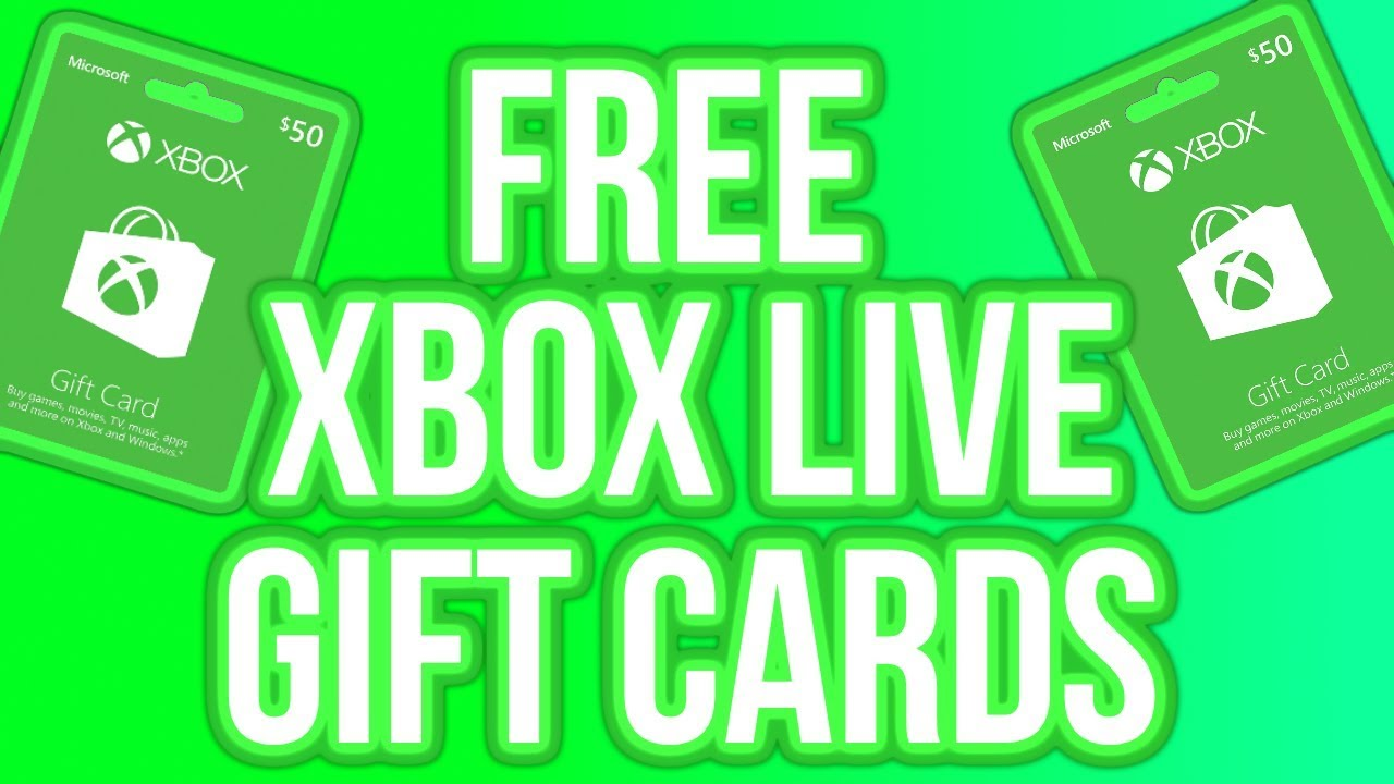 How To Get FREE Xbox Gift Cards in 2019