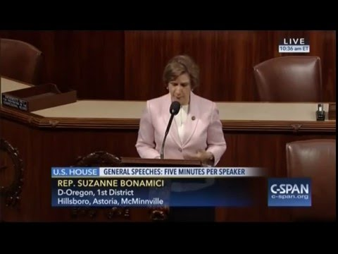 Congresswoman Bonamici Speaks about Congressman Bobby Scott