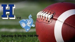 Fall 2014 - Football - Tufts Jumbos vs. Hamilton Continentals