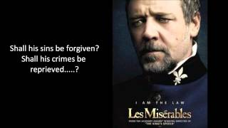 Les Miserables Javert