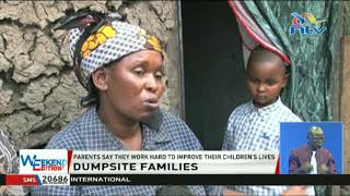 More than 200 families make a living from the Gioto dumpsite in Nakuru