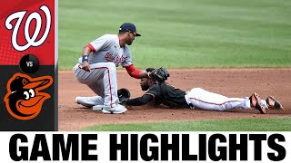 Nationals vs. Orioles Game Highlights (7/25/21)
