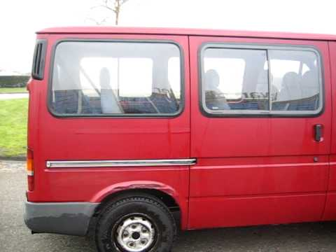 ford transit 2 0 combi 9 persoons rood 1995 automarc elburg youtube. Black Bedroom Furniture Sets. Home Design Ideas