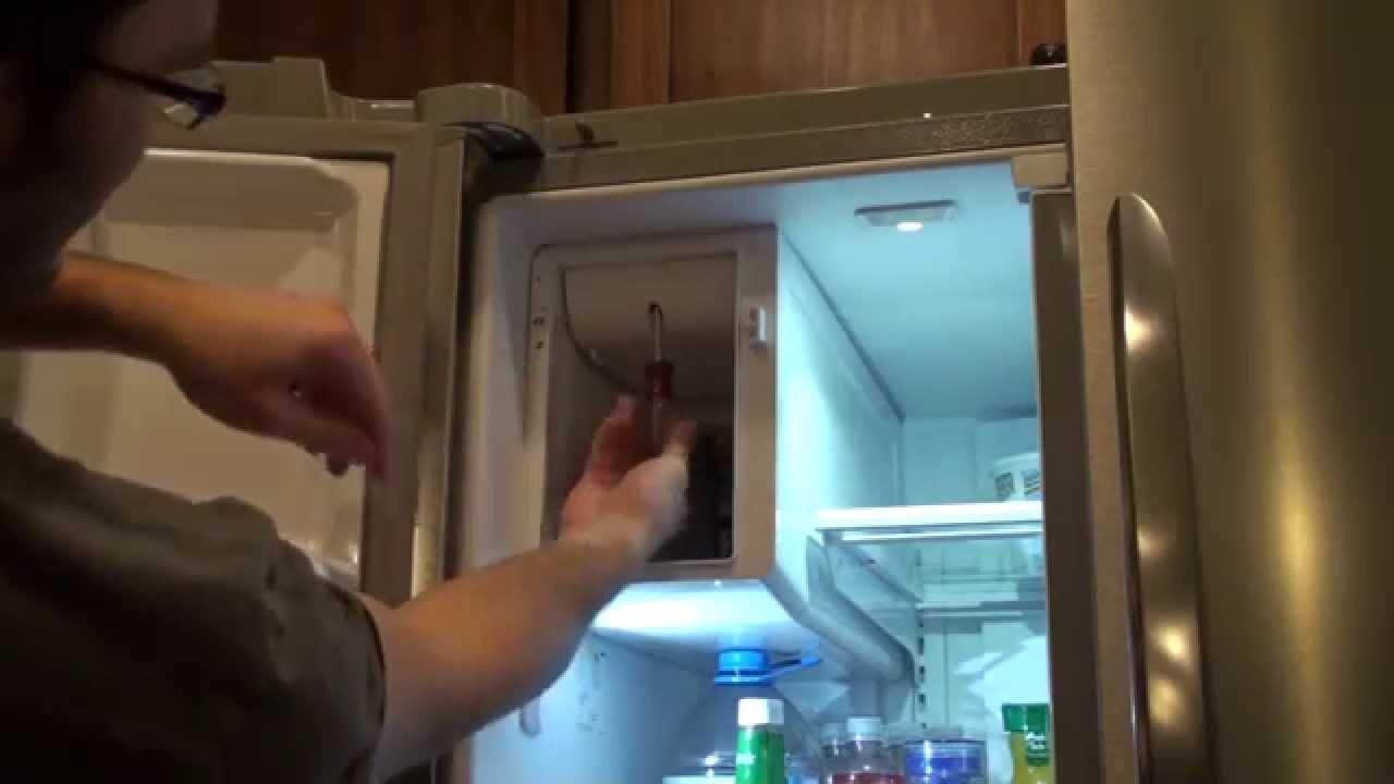 frigidaire ice maker dispenser repair [ 1280 x 720 Pixel ]