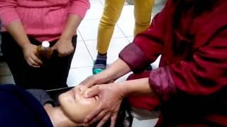 周福寶老師--柔式推拿按摩法~頭部的推拿按摩法