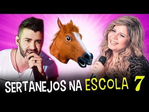 Sertanejos NA ESCOLA 7  Gusttavo Lima Marilia Mendonça Ze neto e Cristiano e Jorge e mateus