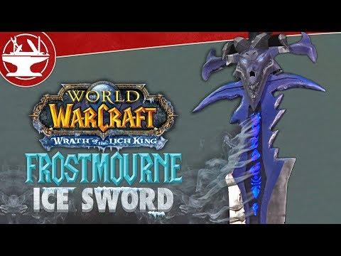 Real Life Frostmourne is SUPER DESTRUCTIVE