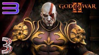 God of War 2 RPCS3 прохождение на геймпаде часть 3 Верхом на пегасе