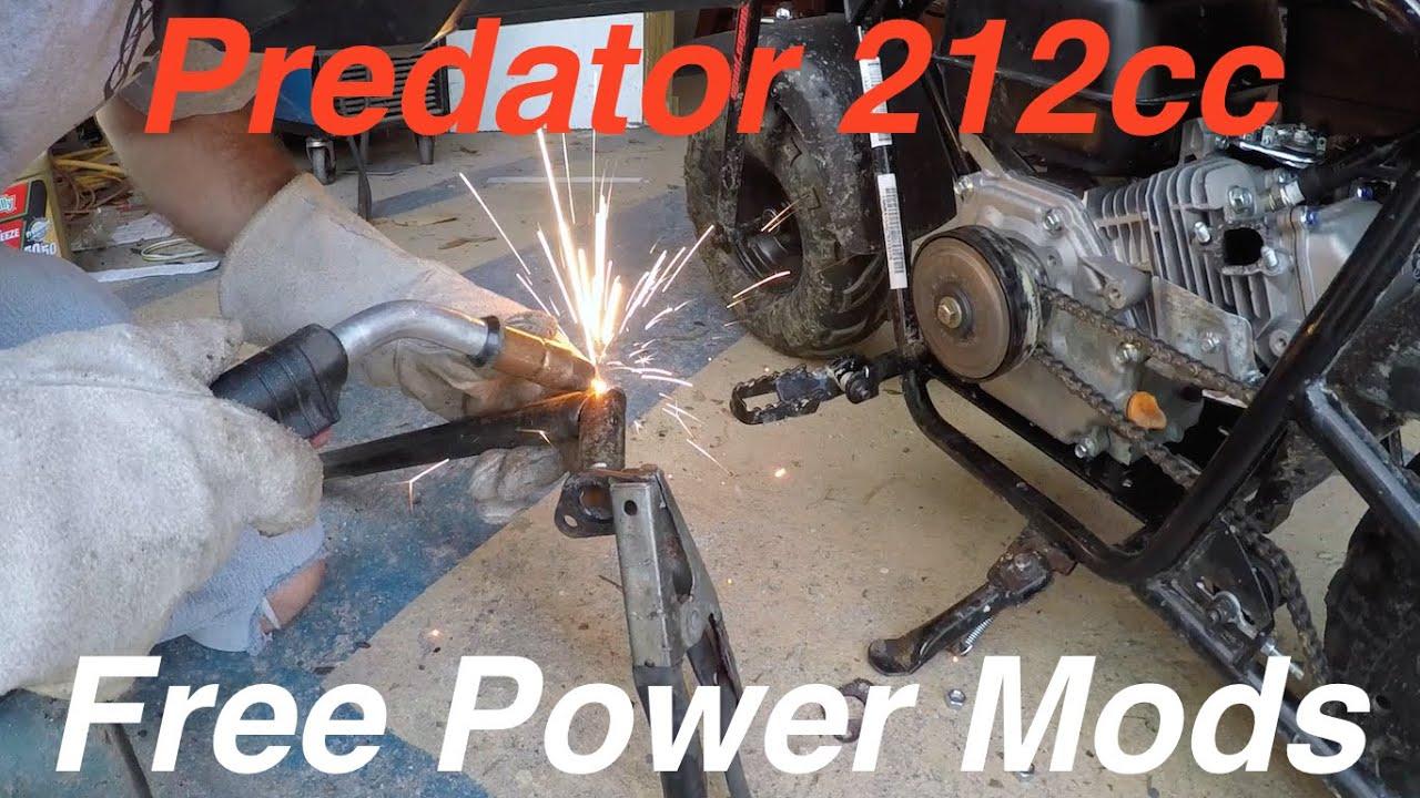 Prepping for the Drag Race: Modding the Predator 212cc