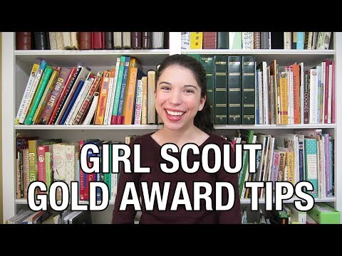 Girl Scout Gold Award Tips