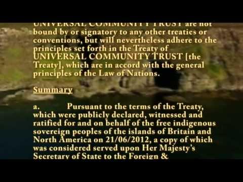 Universal Community Trust - Memorandum of Understanding