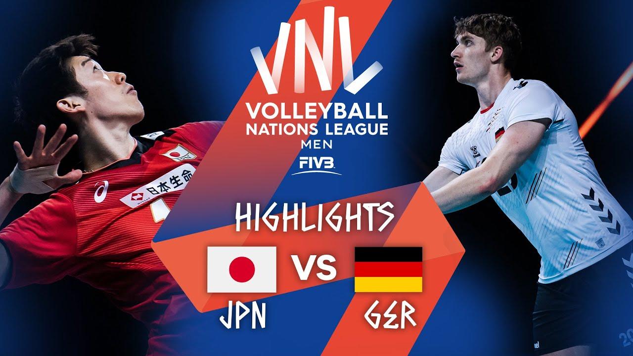 Download JPN vs. GER - Highlights Week 4 | Men's VNL 2021