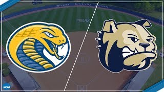 2018 South Atlantic Conference Softball - Coker at Wingate (Game 1 of DH)