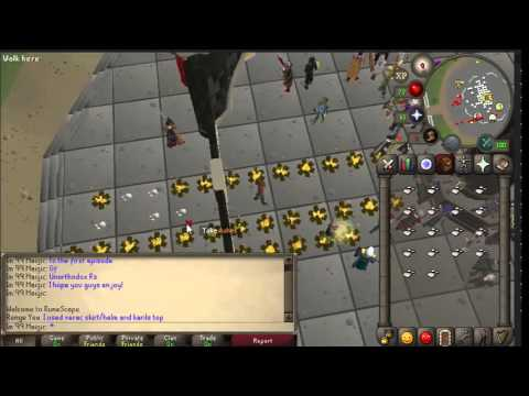 1 Hour of Picking Up Ashes Runescape 2007 70k+ p/h (Episode 1)