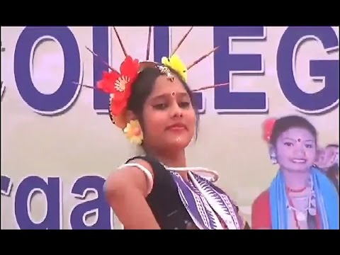 Mamu Sange Jaithili Baragada Hata By A College Girl♡☆ Record Dance ♡ ☆ Sambalpuri viral Video ♡ ☆