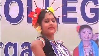 Mamu Sange Jaithili Baragada Hata By A College Girl♡☆ Record Dance ♡ ☆ Sambalpuri viral Video ♡ ☆