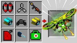 JAK ZROBIĆ DRONA ROBOTNIKA W MINECRAFT?! || FABULARMOD #27