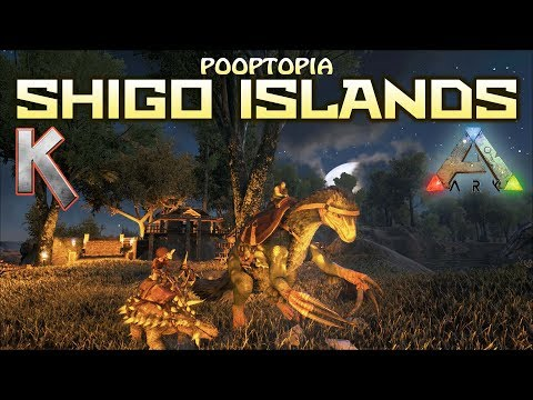 Ark: Survival Evolved - Oil and Metal S4E15 Pooptopia Shigo Islands