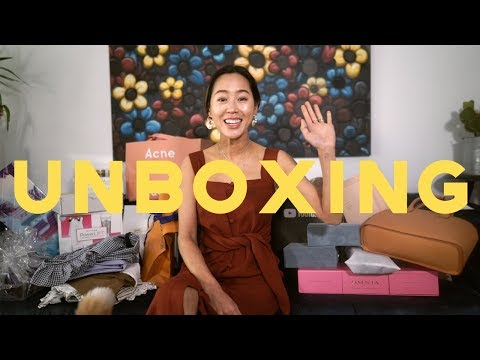 Unboxing with me  face devices & my new favorite highlighters  Aimee Song