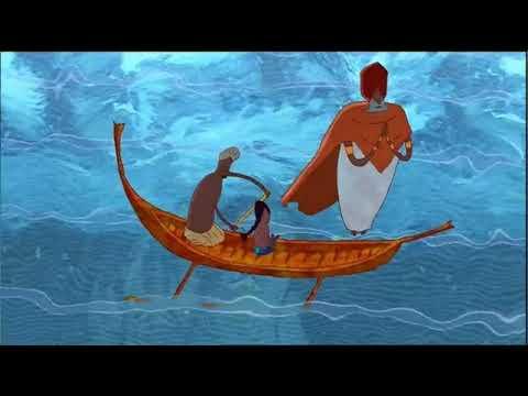Мультфильм как краб играл с морем