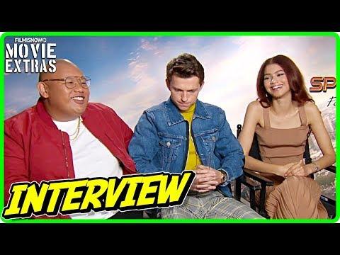SPIDER-MAN: FAR FROM HOME | Tom Holland, Zendaya \u0026 Jacob Batalon Talk About The Movie
