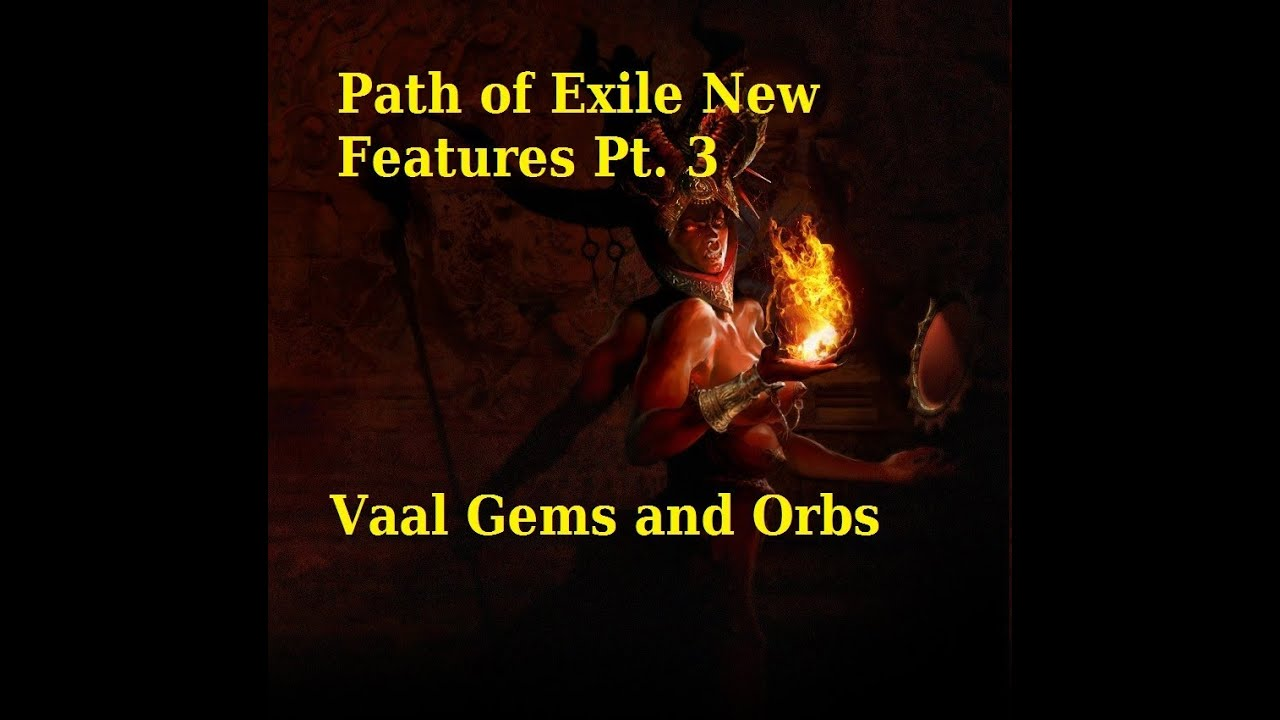 how to make vaal discipline