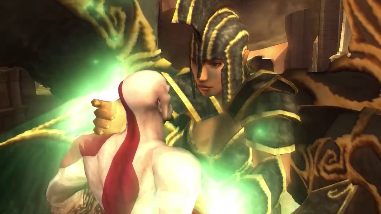 Final Boss God Of War Chains Of Olympus Kratos VS Persephone ...