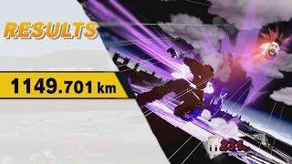 1000+km Ganondorf Home Run Contest Strategy!