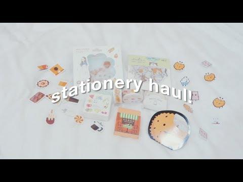 mini stationery haul 🌸✨ // ramyaadsha