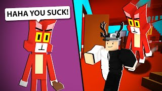 An oversized cat made me rage quit this roblox game...