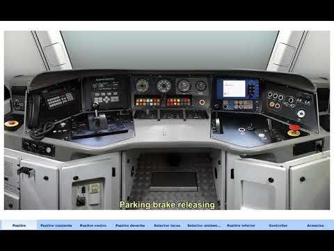 EURO 4000 locomotive simulator for CEFF (2017)