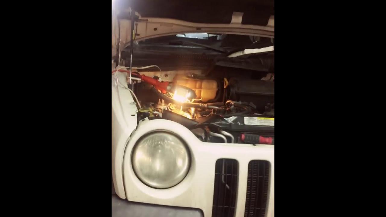 Camshaft and crankshaft sensor 2002 jeep liberty v6 3 7